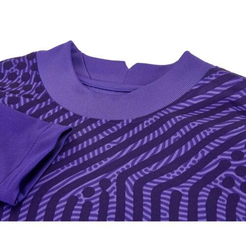 Womens Nike Gardien III Team Goalkeeper Jersey – Varsity Purple & Court Purple with Ink