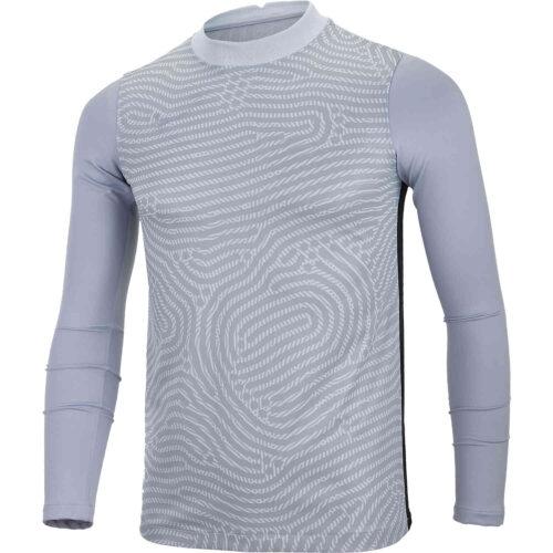 Kids Nike Gardien III Team Goalkeeper Jersey – Pure Platinum & Sky Grey with Wolf Grey