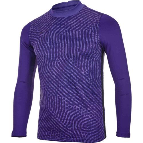 Kids Nike Gardien III Team Goalkeeper Jersey – Varsity Purple & Court Purple with Ink