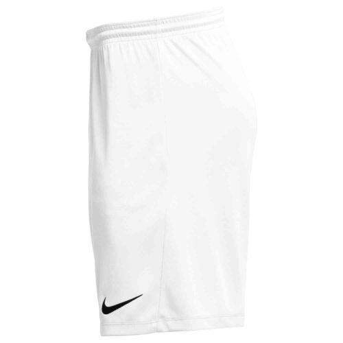 Nike Park III Shorts – White