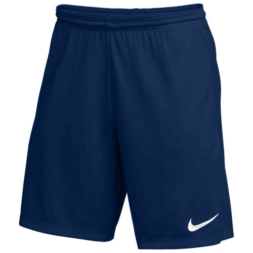 Nike Park III Shorts – College Navy