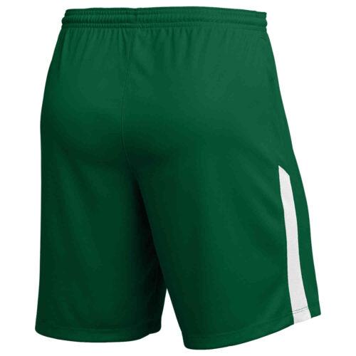 Kids Nike League II Team Shorts – Gorge Green