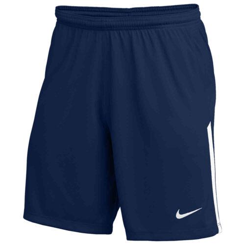 Kids Nike League II Team Shorts – College Navy