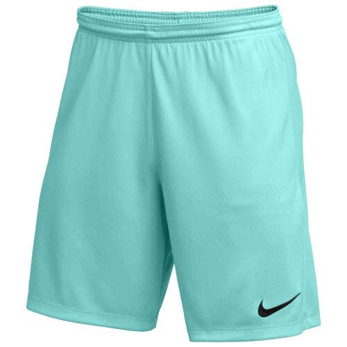 Kids Nike Park III Shorts – Hyper Turquoise