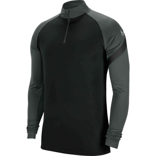 Nike Academy Pro Drill Top – Black/Anhtracite