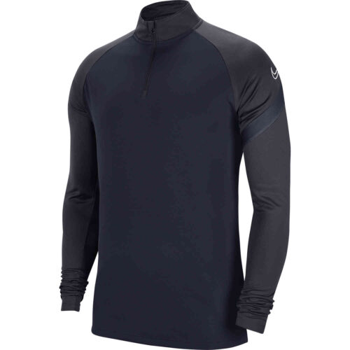 Nike Academy Pro Drill Top – Obsidian/Anthracite