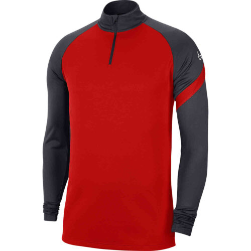 Nike Academy Pro Drill Top – University Red/Anhtracite