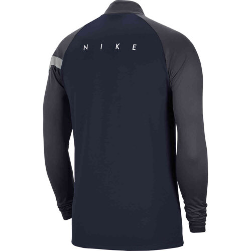 Kids Nike Academy Pro Drill Top – Obsidian/Anthracite