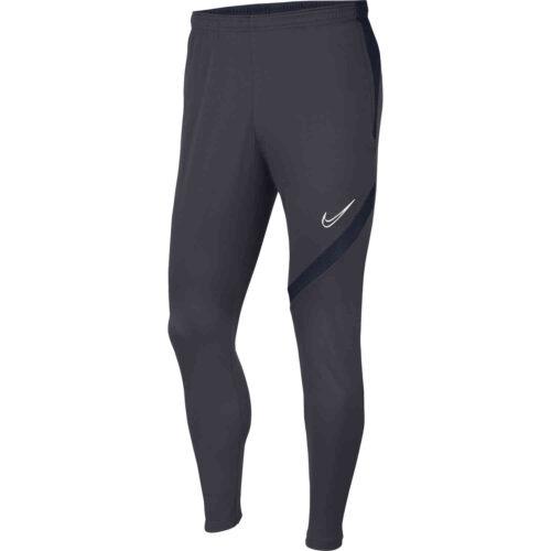 Kids Nike Academy Pro Training Pants – Anthracite/Obsidian