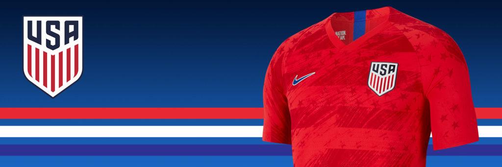 buy popular 9dafc f68ee USMNT Jersey | SoccerPro | USA Mens Soccer Jersey