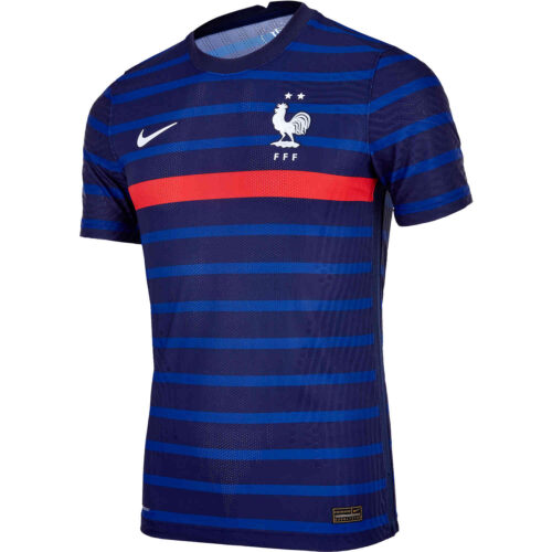 2020 Nike France Home Match Jersey