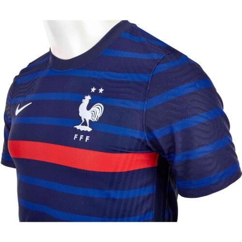 2020 Nike France Home Match Jersey