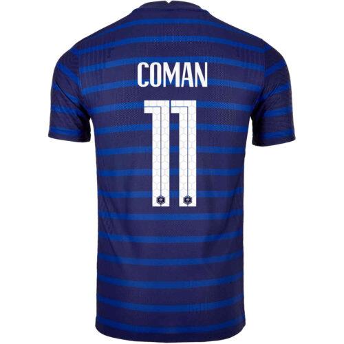 2020 Nike Kingsley Coman France Home Match Jersey