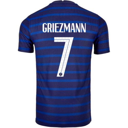 2020 Nike Antoine Griezmann France Home Match Jersey