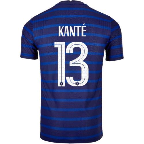 2020 Nike N'Golo Kante France Home Match Jersey