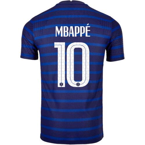 2020 Nike Kylian Mbappe France Home Match Jersey