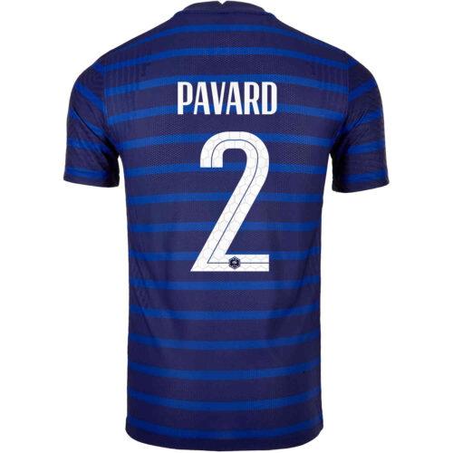 2020 Nike Benjamin Pavard France Home Match Jersey