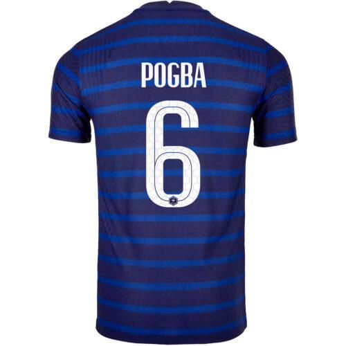 2020 Nike Paul Pogba France Home Match Jersey
