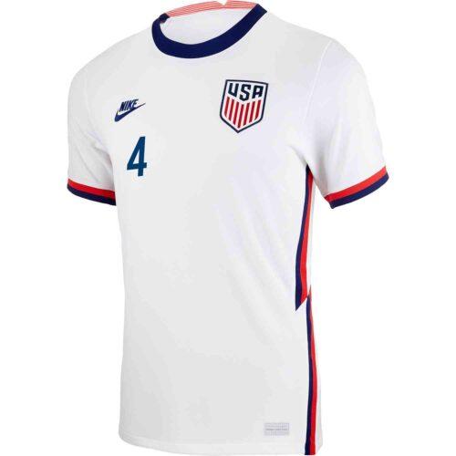 2020 Nike Tyler Adams USMNT Home Match Jersey