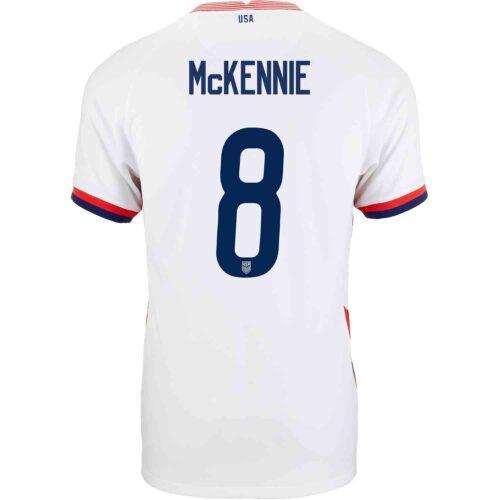 2020 Nike Weston McKennie USMNT Home Match Jersey