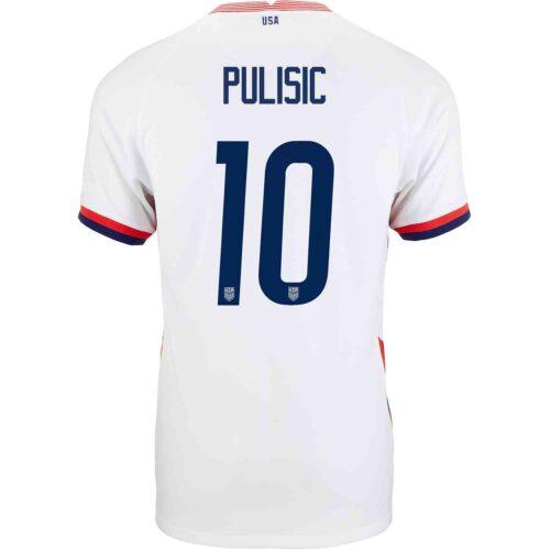 2020 Nike Christian Pulisic USMNT Home Match Jersey