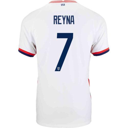 2020 Nike Giovanni Reyna USMNT Home Match Jersey