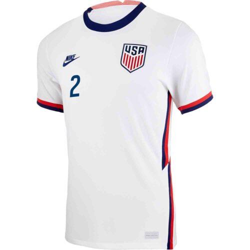 2020 Nike DeAndre Yedlin USMNT Home Match Jersey