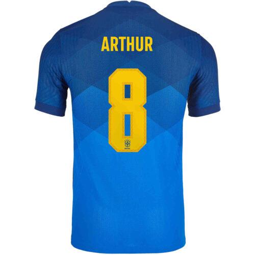 2020 Nike Arthur Brazil Away Match Jersey