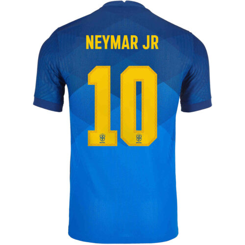 2020 Nike Neymar Jr Brazil Away Match Jersey