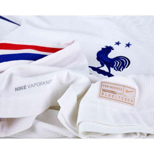 2020 Nike Kylian Mbappe France Away Match Jersey