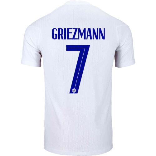 2020 Nike Antoine Griezmann France Away Match Jersey