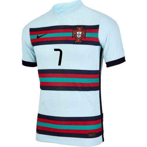 2020 Nike Cristiano Ronaldo Portugal Away Match Jersey