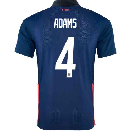 2020 Nike Tyler Adams USMNT Away Match Jersey