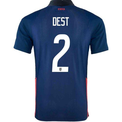 2020 Nike Sergino Dest USMNT Away Match Jersey