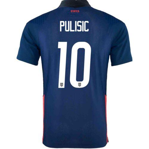 2020 Nike Christian Pulisic USMNT Away Match Jersey