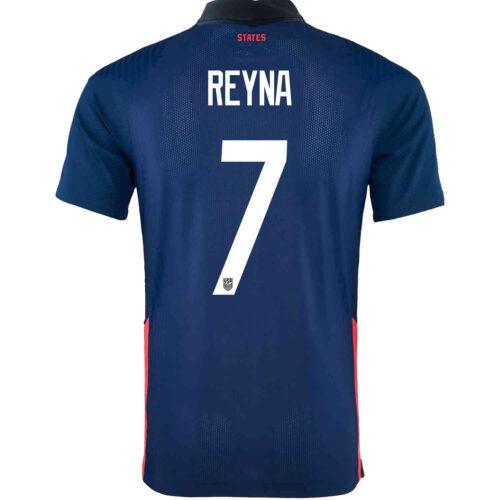 2020 Nike Giovanni Reyna USMNT Away Match Jersey
