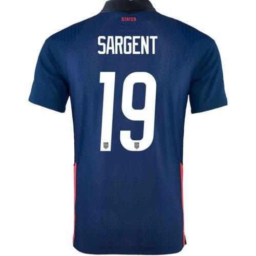 2020 Nike Josh Sargent USMNT Away Match Jersey