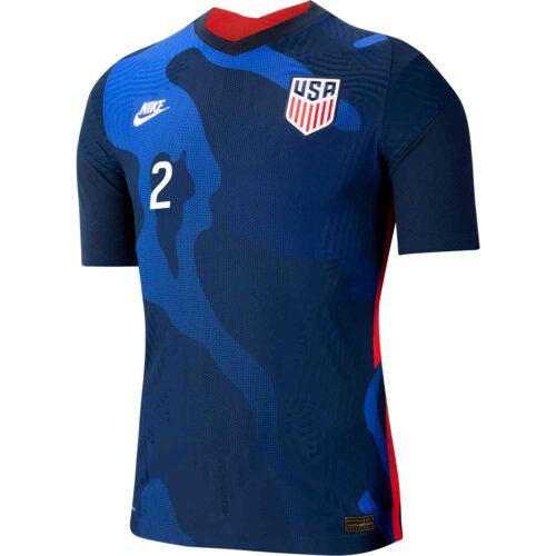 2020 Nike DeAndre Yedlin USMNT Away Match Jersey