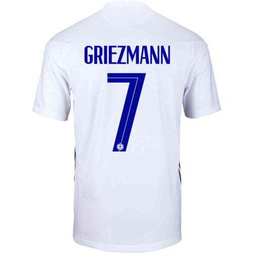 2020 Nike Antoine Griezmann France Away Jersey