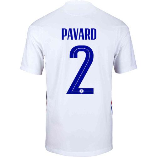 2020 Nike Benjamin Pavard France Away Jersey