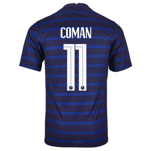 2020 Nike Kingsley Coman France Home Jersey