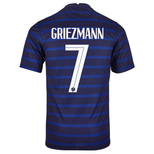 2020 Nike Antoine Griezmann France Home Jersey