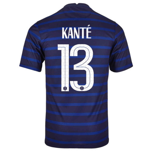 2020 Nike N'Golo Kante France Home Jersey