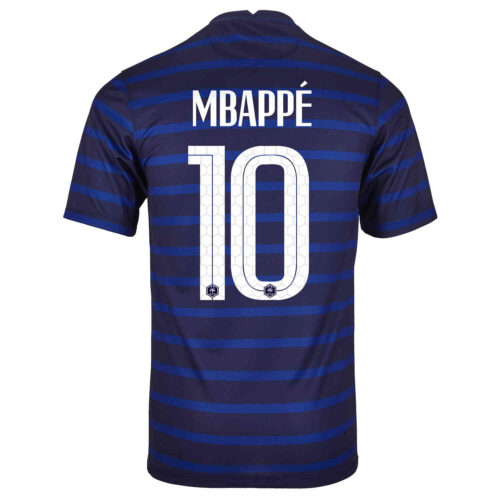 2020 Nike Kylian Mbappe France Home Jersey