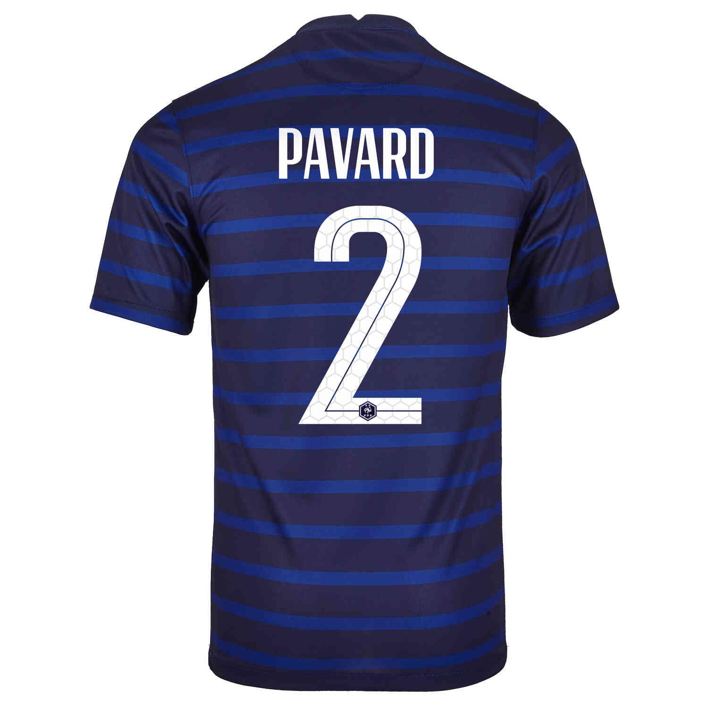 2020 Nike Benjamin Pavard France Home Jersey - SoccerPro