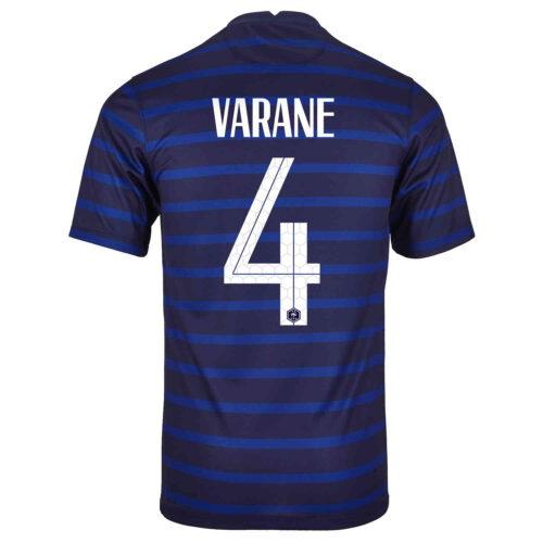 2020 Nike Raphael Varane France Home Jersey