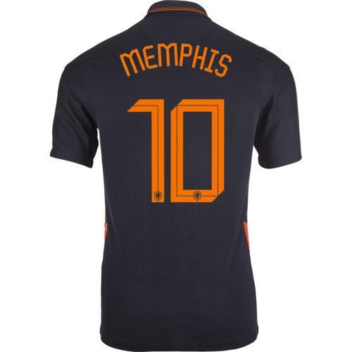 2020 Nike Memphis Depay Netherlands Away Jersey
