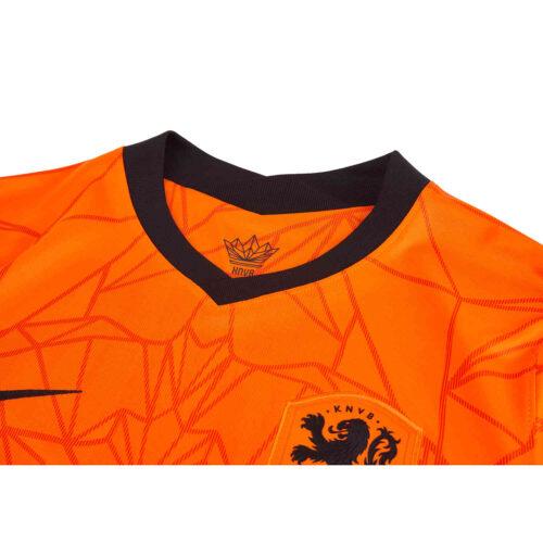 2020 Nike Matthijs de Ligt Netherlands Home Jersey