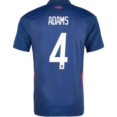 2020 Nike Tyler Adams USMNT Away Jersey