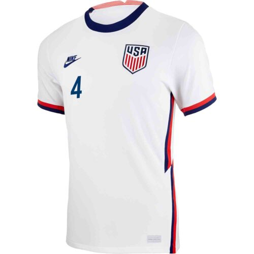 2020 Nike Tyler Adams USMNT Home Jersey